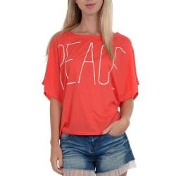 T-shirt Molly Bracken S1036E16 Femme corail