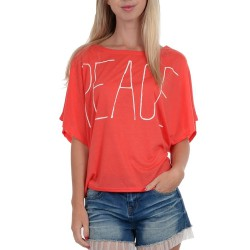 T-shirt Molly Bracken S1036E16 Mujer coral