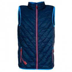 Gilet Rock Experience Spike Homme bleu
