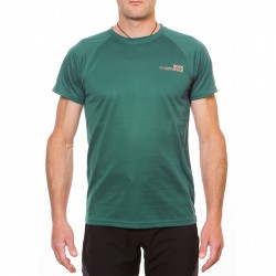 T-shirt Rock Experience Ambit Hombre verde oscuro