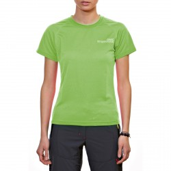 T-shirt Rock Experience Ambit Femme vert clair