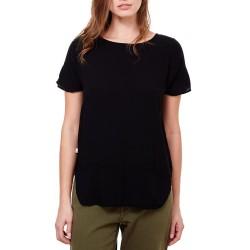 T-shirt Manila Grace Mujer negro
