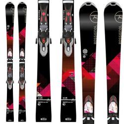 Ski Rossignol Unique 6 W Xelium + fixations Xelium Saphir 110 B8