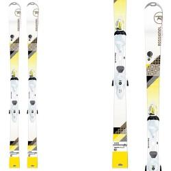 ski Rossignol Unique 4 W Xelium + fixations Xelium Saphir 110 B83