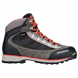 Zapatos trekking Tecnica Makalu III Gtx Hombre metalgun-naranja