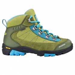 Pedule trekking Tecnica Makalu Gtx Jr militare-azzurro