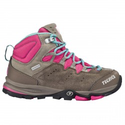 Trekking shoes Tecnica Cyclone III Mid Tcy Jr taupe-pink (33-36)