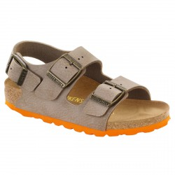 Sandal Birkenstock Milano Boy dove-orange (24-34)