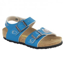 Sandal Birkenstock New York Boy light blue-beige