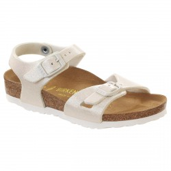 Thongs Birkenstock Rio Girl glitter white (24-34)