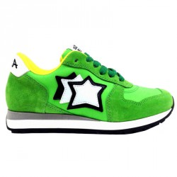 Sneakers Atlantic Stars Mercury Niño verde fluo
