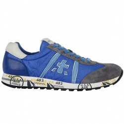 Sneakers Premiata Lucy Homme royal-gris