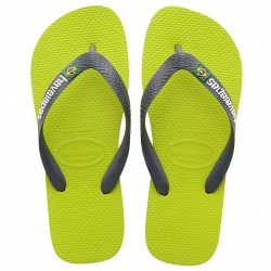 Flip-flop Havaianas Brasil Logo lime