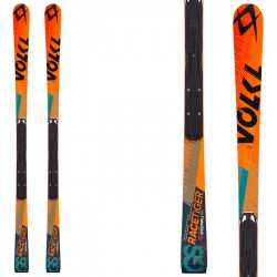 Ski Volkl Racetiger Sw GS R Jr + fixations Race Xcell 12