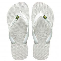 flip-flop Havaianas Brasil Logo white