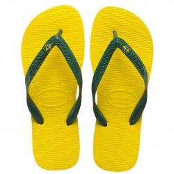 tongs Havaianas Brasil jaune
