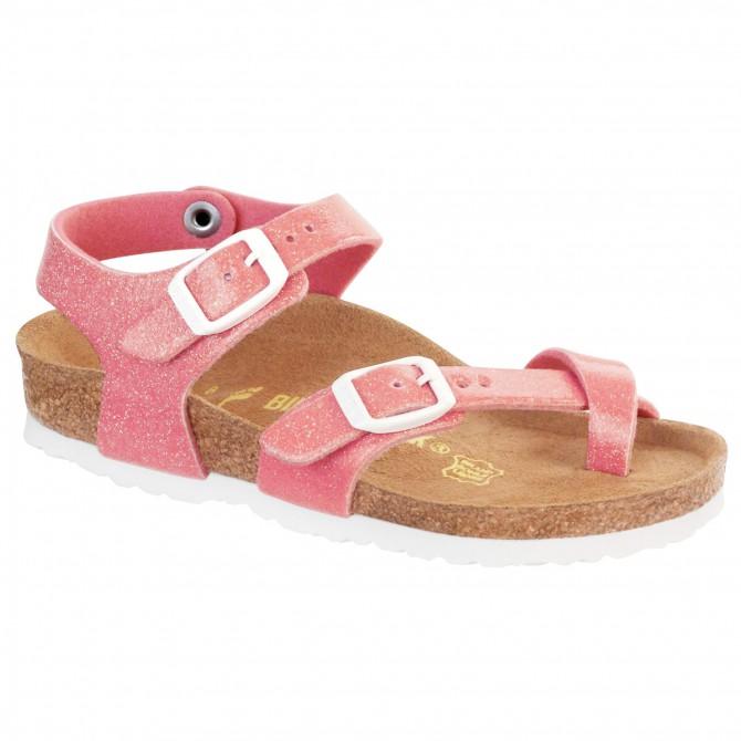 fbfd1f60e93 Thongs Birkenstock Taormina Girl glitter pink (24-31)
