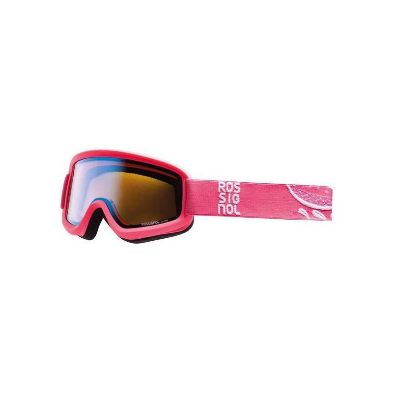 Maschera sci Rossignol Ace W Flower Pink