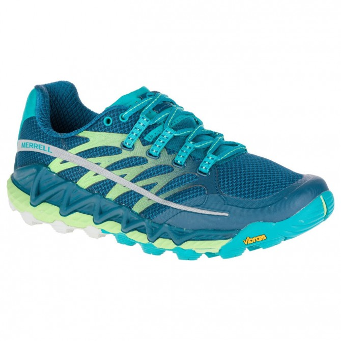 Trail running shoes Merrell All Out Peak Woman