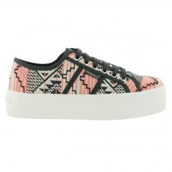 Sneakers Victoria Étnico Mujer coral