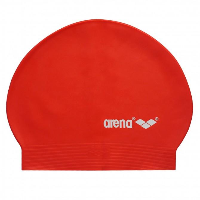 Bonnet de bain Arena Soft rouge