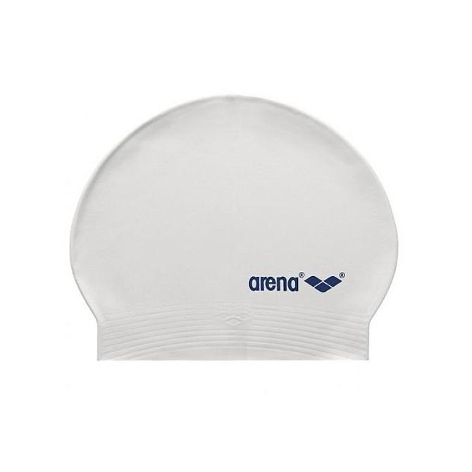 Bonnet de bain Arena Soft blanc