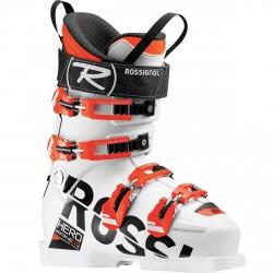 Scarponi sci Rossignol Hero WC SL 110 medium bianco-arancio fluo