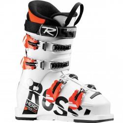 Scarponi sci Rossignol Hero J 65 bianco-arancio fluo