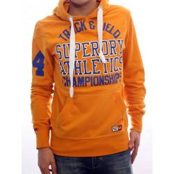 Sweat-shirt Superdry Tracker Lite Homme orange