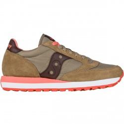 Sneakers Saucony Jazz Original Donna verde-corallo