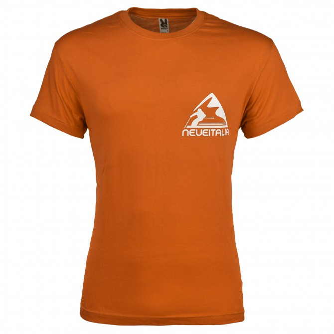 T-shirt Neve Italia arancione