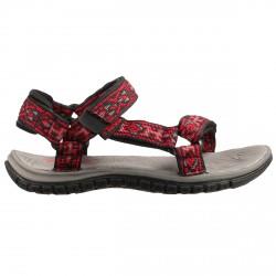 Sandalo Teva Hurricane 3 Baby rosso-nero