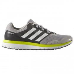 Zapatos running Adidas Duramo 7 Hombre gris-lime