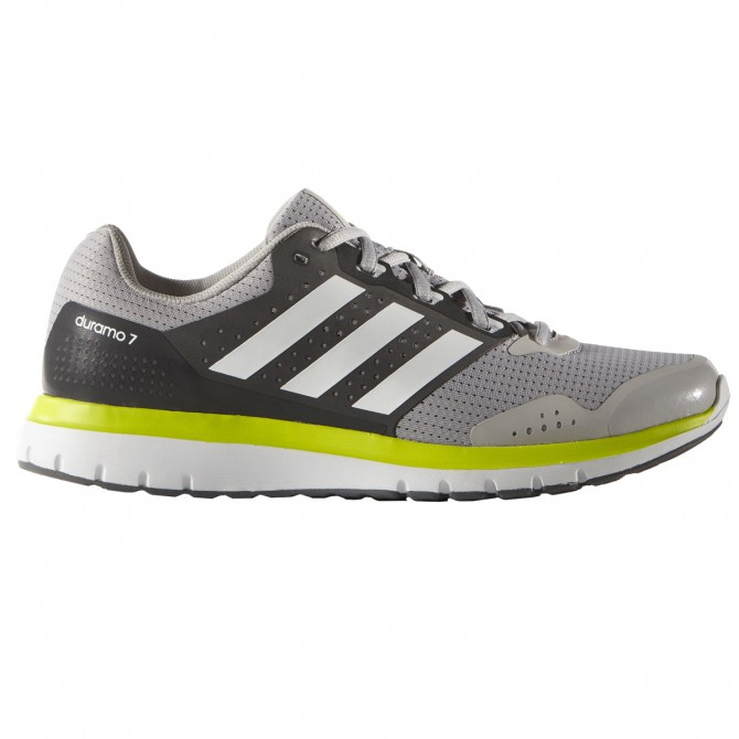 Running shoes Adidas Duramo 7 Man grey-lime
