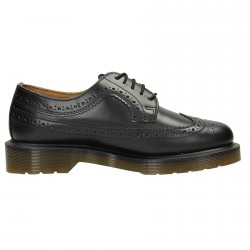 Scarpa bassa Dr Martens Brogue Donna smooth nero