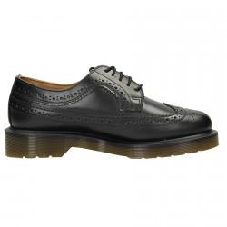 Zapatos Dr Martens Brogue Smooth Mujer negro