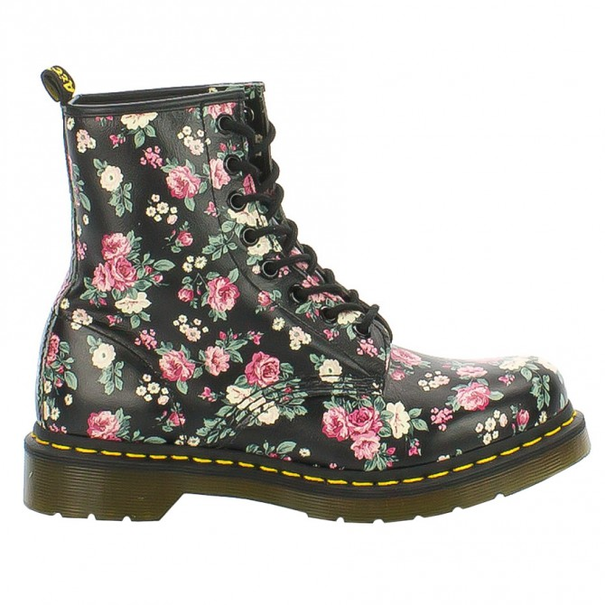 Shoes Dr Martens 1460 Vintage Rose Softy Woman
