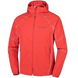 Softshell Columbia Sweet As Uomo rosso