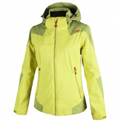 Windstopper jacket Cmp Woman yellow