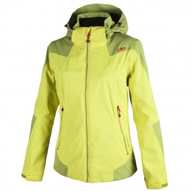 Giacca windstopper Cmp giallo