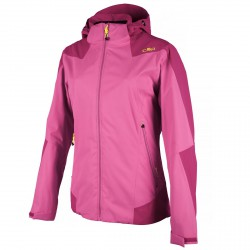Windstopper jacket Cmp Woman fuchsia