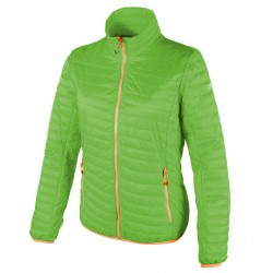 Chaqueta de pluma Cmp Mujer verde-naranja