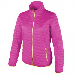 Down jacket Cmp Woman fuchsia-yellow