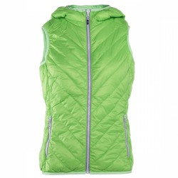 Gilet Rock Experience Spike Donna verde