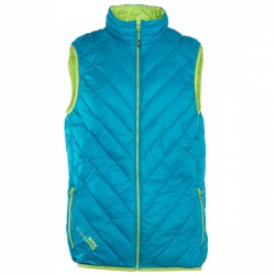 Gilet Rock Experience Spike Homme bleu clair