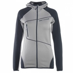 Sweater Rock Experience Lavaredo Hoodie Woman grey