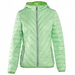 Down jacket Rock Experience Spike Woman green
