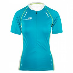 T-shirt trail running Rock Experience Velocity Zip Femme