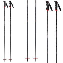 Ski poles Rossignol P140 Carbon Vas Grip