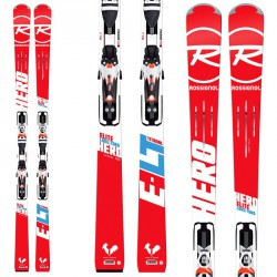 Ski Rossignol Hero Elite Lt Ti + bindings attacchi Axial3 120 Tpi2 B80